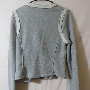 GAP Jackets & Coats - Gap Womens Grey Moto Jacket Size Small